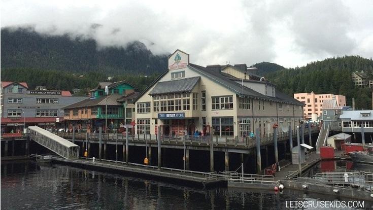 Getting around Ketchikan Alaska with Kids - Cruise Port Guide