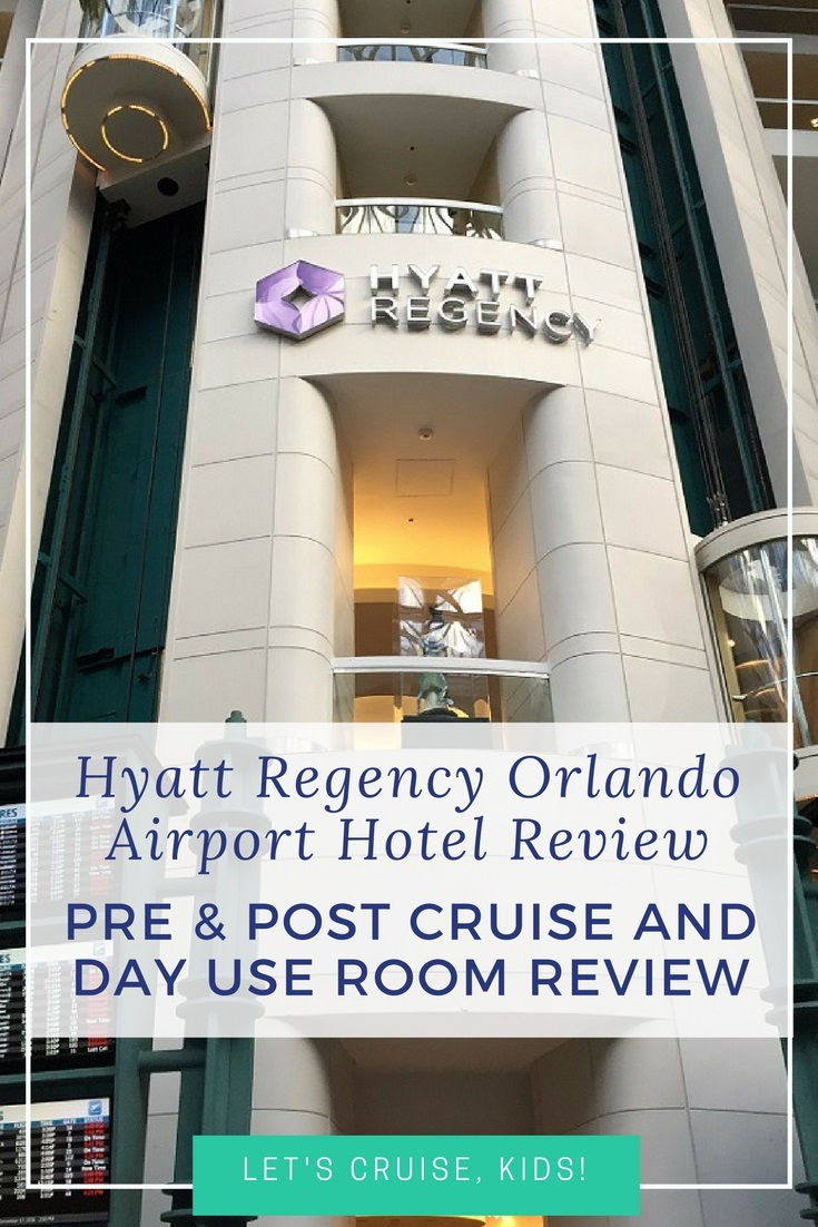 Hyatt Regency Orlando Airport Hotel Review Pre Cruise Post And Day Use Room