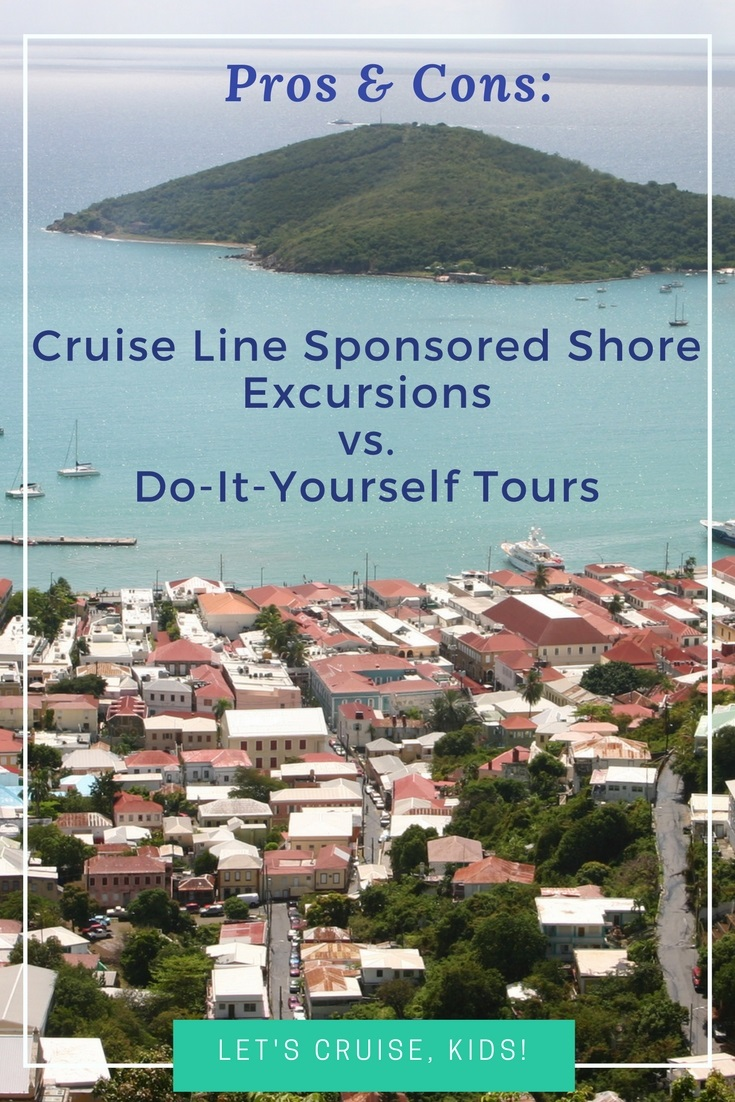 Shore Excursions - Cruise Line Sponsored or DIY Independent Tours